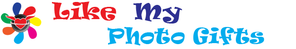 Like my photo gifts logo